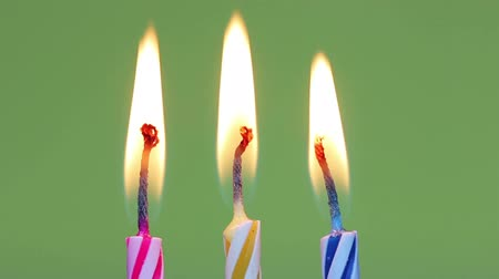 Поздравляю :  Three birthday candles
