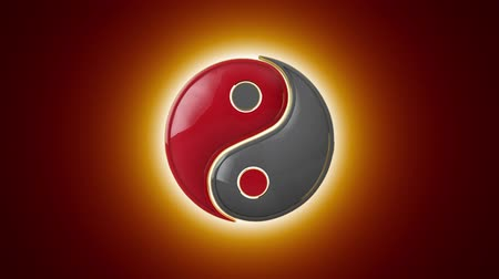daoism : Compound and Connection. Mutual penetration. Yin-Yan (constant struggle of two opposites). Eastern culture and philosophy.