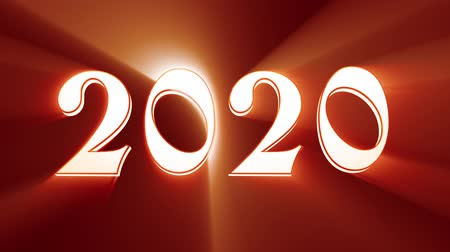 hurry up : New Year 2020. Christmas. Bronze figures, midnight. Fairy clock. New Year composition on a black background. The effect of shine was used. Quick Time, h264, 16-bit color, highest quality. Smooth gradation of color, without banding effect! 3D animation.