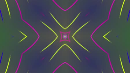 demirli : Abstract colored lines pattern. Motion background. Seamless Loop. Kaleidoscope.