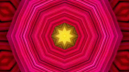 глубоко : Abstract colorful motion background. Kaleidoscope. Seamless loop. Стоковые видеозаписи