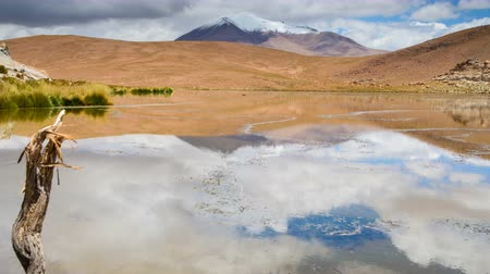 Mirroring Black Lake in Bolivia