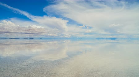 Salar De Uyuni, Bolivia During Wet Season
