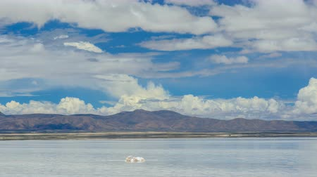 Bolivian Salt Flat During Wet Season