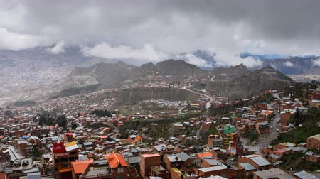 Panoramic View On La Paz