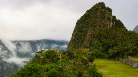 Cloudy Morning in Machu Pichu