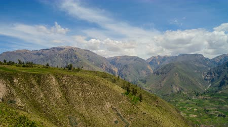 Panoramic View from Colca Canyon