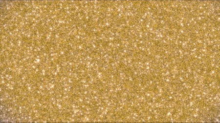 reflektor : Golden glitter background and sparkles animation 4k