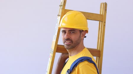 montáž : Construction worker