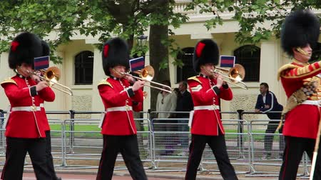 saray : LONDON - JUNE 2: Palace guards