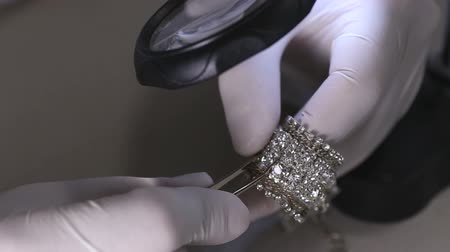 kıymetli : Diamond Bracelet In Work