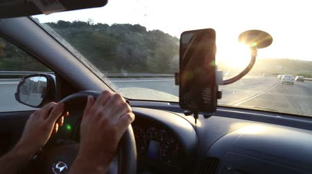 on the phone : Using phone during driving
