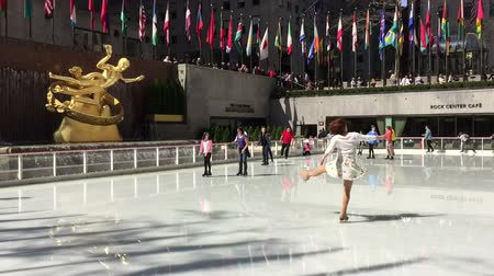 centrum : Ice Skating Fun at The Rockefeller Center