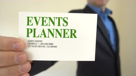 planejador : Shot of Event Planner Business Card