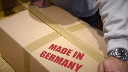 zęby : Shipment of goods made in Germany