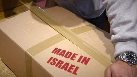 zęby : Shipment of goods made in Israel