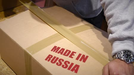 zęby : Shipment of goods made in Russia