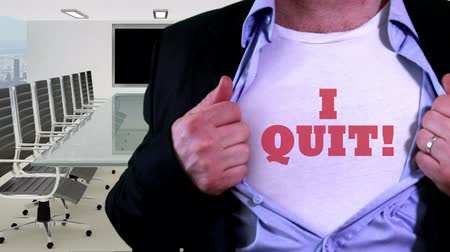 unveil : Employee quit concept shirt