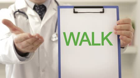 vara : Doctor recommend on walking