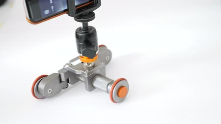 gimmick : Shooting video with motorized dolly
