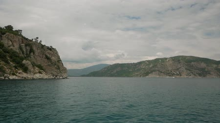 aegean sea : Cloudy weather near the islands