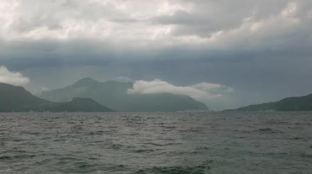Cloudy weather near the islands