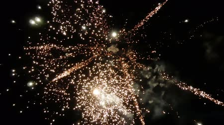 fazla : ireworks exploding in the night sky