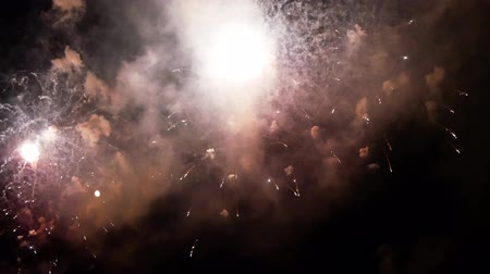fazla : fireworks exploding in the night sky