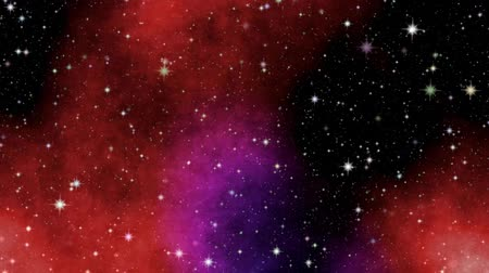 in : Night sky with stars. The journey through space. Short clip with zoom in effect. Stock Footage