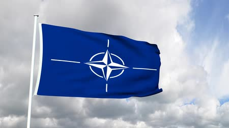 Латвия : Flag of the NATO