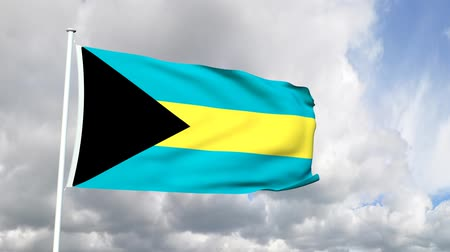 paraíso : Flag from the Bahamas