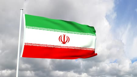 teheran : Flag of the Iran