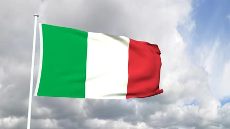 milan : Flag of Italy