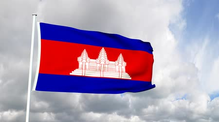 bandeira : Flag of Cambodia