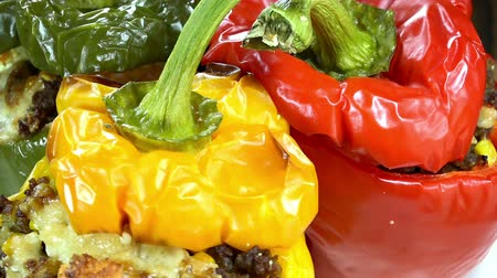 papryka : Rotating Stuffed Peppers (loopable)