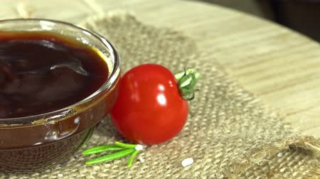 ketchup flasche : BBQ-Sauce (nahtlose loopable) Videos