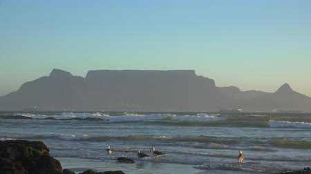 kasaba : Cape Town at the Sunset view from Bloubergstrand, South Africa