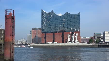 elba : Porto di Amburgo (Elbe Philharmonic Hall (Elphilharmonie)) in Germania