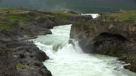 maravilha : Geitafoss waterfall in Iceland (next to the famous Godafoss)