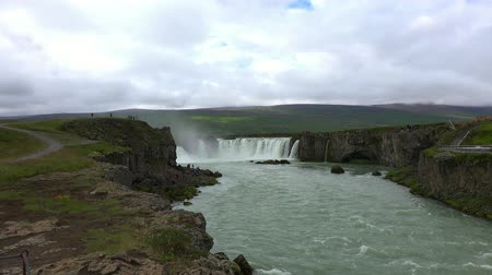 scoprire : Godafoss waterfall in Iceland