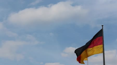 almanca : German national flag Germany flag