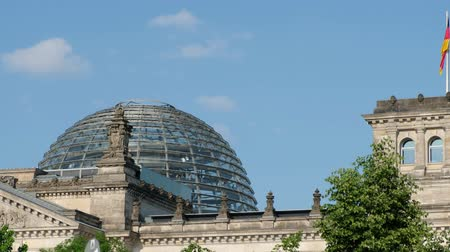 The Dome of the german Reichstag in Berlin