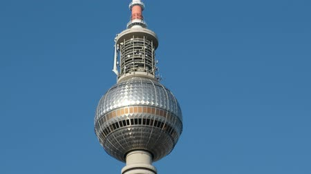 Tv Tower (TV tower) in Berlin Stock Footage