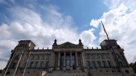 bundestag : The Reichstag Building, seat of the German Parliament (German Bundestag)