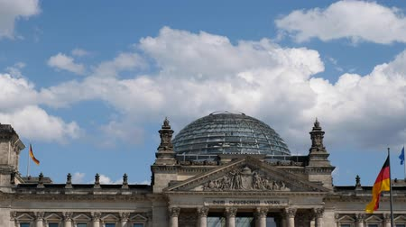 bundestag : The Dome of the German Government Building, the Reichstag Building (German Bundestag)