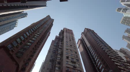 skyscraper buildings, residential real estate, Hong Kong