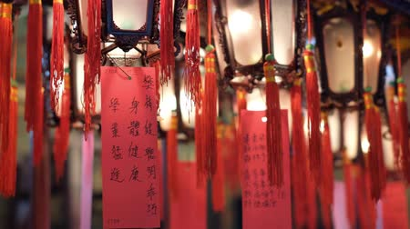 sortudo : Inside old chinese temple (Man Mo Temple) in Hong Kong