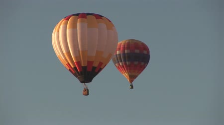 from air : Two hot air balloons