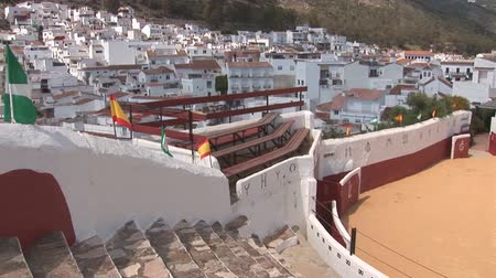 földközi tenger : Bull fighting arena in Mijas, Spain