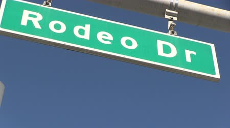 드라이브 : Rodeo Drive in Beverly Hills, 캘리포니아